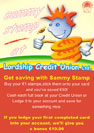 Credit Union - Sammy Stamp Campaign